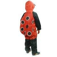 2016 Ladybug Miraculous Kids Cosplay Dress Dance Skirt Ladybird Children S Boys Grils Party Jumpsuits Halloween