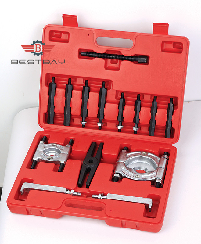 Two Sets Bearing Separator Bearing Puller Set Long Jaw Gear Pulley Removal winmax 6 gear puller 3 jaw set gear pulley bearing puller auto tool