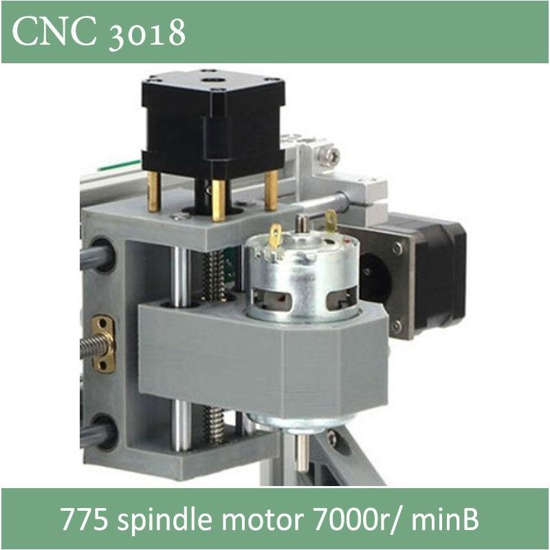Incisore CNC 3018 con mandrino ER11 con opzione laser di 500mw 2500mw - Attrezzature per la lavorazione del legno - Fotografia 3