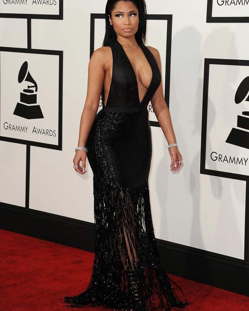 Nicki minaj sexy dress new foto