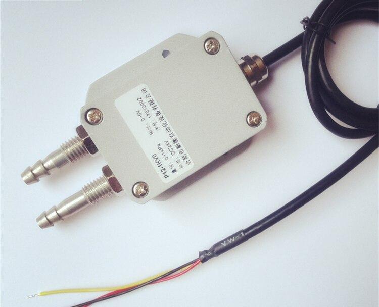 0-5 V/4-20mA trasmettitore di pressione trasduttore di pressione 8mm pagoda Aria Vento 0-100Pa .... 10kPa micro sensore di pressione differenziale