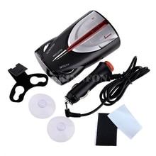 DHL 20 шт. 360 автомобилей лазерные мобильный скорость Антирадары голосового оповещения предупредить 800~ 1200 м 12 В Kit(черный