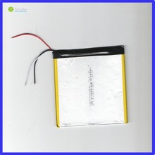 цены ZhiYuSun 3.7V chickness 2.6mm width 100mm length 112mm 3lines 4800mahpolymer lithium ion battery/Li-ion battery for tablet pc,;