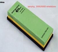 Export Japan sanying whetstone rubstone kitchen knife knives sharpener stones sharpening whetstone 3000/6000