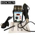 Alta qualidade Youyue 858D + Estação Desoldering Pistola de Ar Quente Estação De Solda ESD Digital LED 700 W aquecedor pistola de Atualização a partir de 858D