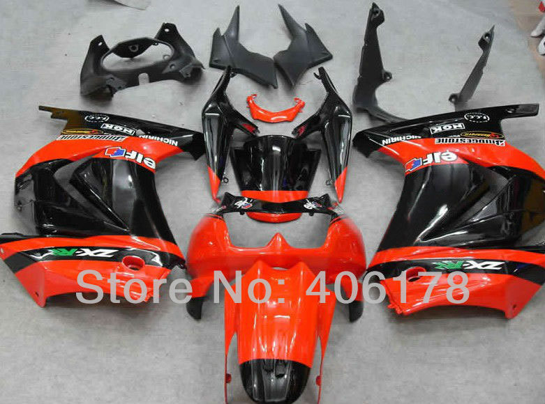 Hot Sales,Ninja 250R cheap price For Kawasaki ZX250R 2008-2012 Orange Monster Sport Motorcycle Fairings (Injection molding) hot sales for kawasaki ninja kit zx6r 09 10 11 12 zx 6r 636 zx636 2009 2012 zx 6r motorcycle fairings parts injection molding
