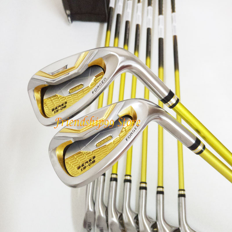 New Golf club HONMA S-06 3 star Golf complete clubs Driver+fairway wood+irons+putter+bag graphite shaft cover freeshipping 4