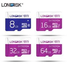 Londisk, новинка, сертифицирована, карта памяти, настоящая емкость, Micro SD, 128 Гб., 600X 8 Гб., 16 Гб., 32 Гб., 64 Гб., 128 Гб., класс 10 UHS-1, Micro SD карта