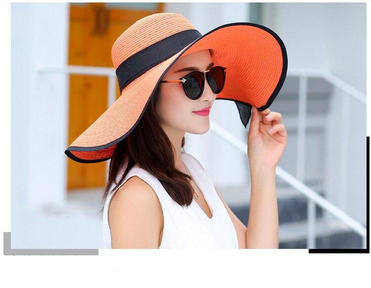16 Chapeau de soleil été plage