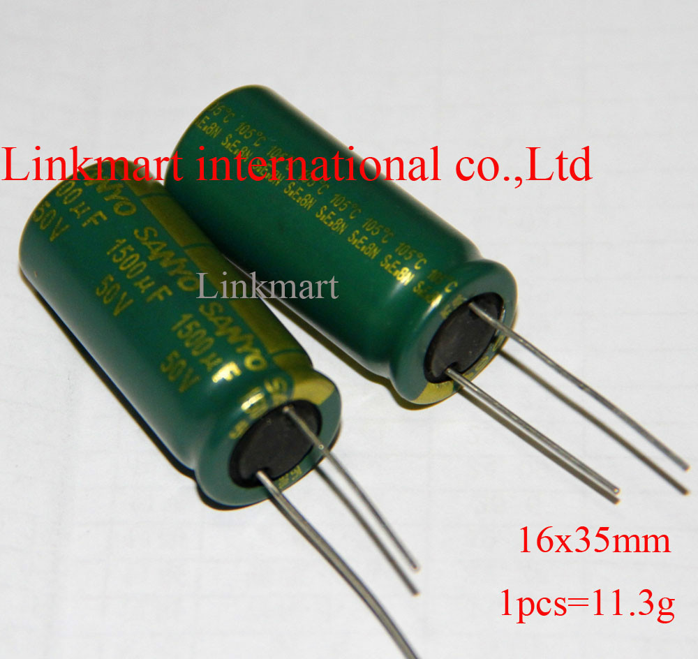 150uF 16V 105°C Capacitor Lot of 10