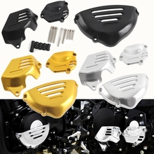 Motorcycle CNC Engine Case Guard Side Frame Slider Stator Cover Protector for Kawasaki Z900RS 2018 2019 Z900 RS Accessories for kawasaki z900 2017 2018 engine guard cnc aluminum cover protector motor bike frame slider pads motorcycle accessories
