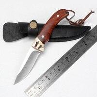 الساخنة الثابتة الصيد سكين للطي سكين التكتيكية بقاء التخييم سكين سكاكين 440c بليد في أمريكا الشمالية أدوات edc