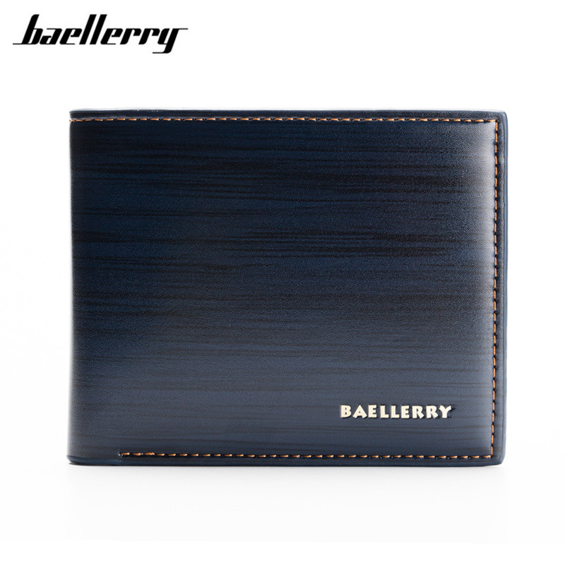 Baellerry 2017 Luxury Top Men Wallets Big Capacity Clutch Bag Oil Wax Leather Men Short Design Wallet Coin Purse Male Wallet p kuone men s clutch wallet luxury shining oil wax cowhide men clutch bag man long genuine leather wallets male coin purse bags