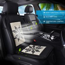 Car Cooling Seat Cushion Black 12V Automotive Adjustable Temperature Comfortable Cigarette Lighter