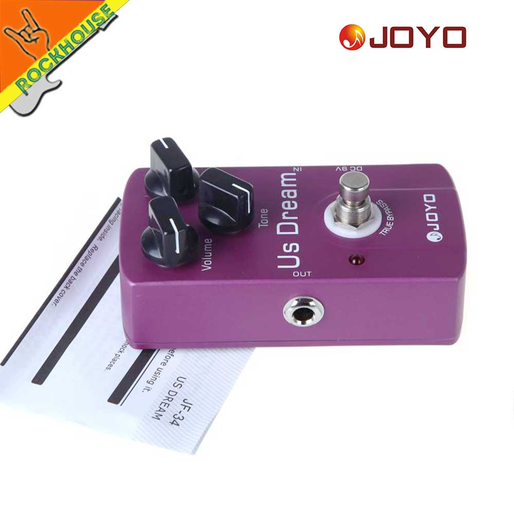 JOYO Classic Tube Distortion Guitar Pedal de efectos Crunch - Instrumentos musicales - foto 6