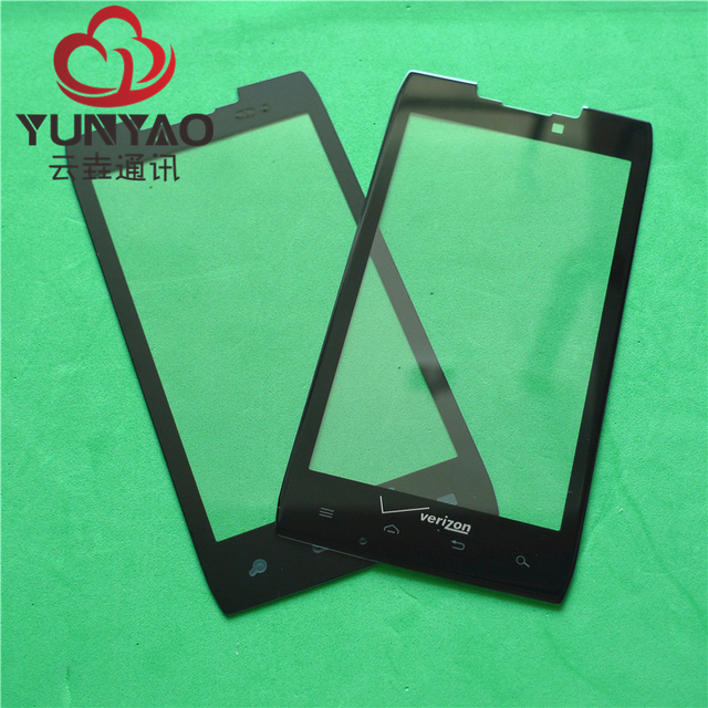 10pcs New Replacement LCD Front Touch Screen Glass Outer Lens For Motorola XT912 Touch Screen