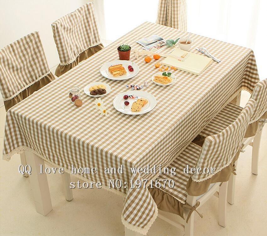 Coffee Table Cloth Fabric Of Modern Minimalist Lattice European Garden  Tablecloth Wedding U0026home U0026hotel Tablecloth(