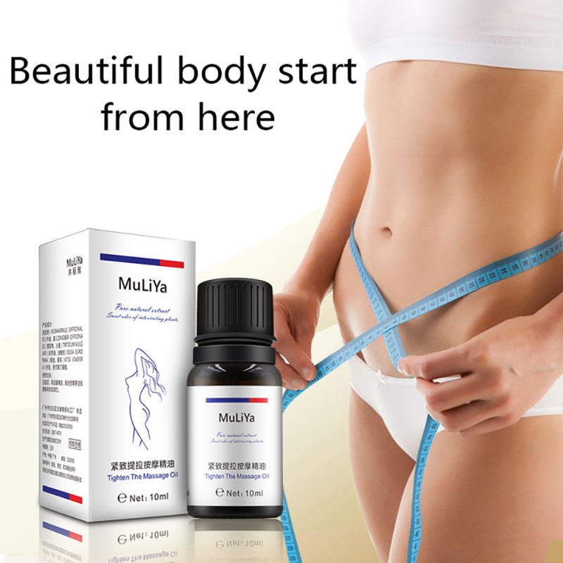 Women Body Care Slimming Leg Body Waist Fat Burning Loss Blends Slimming Liquid Weight Essential Oil 10ml
