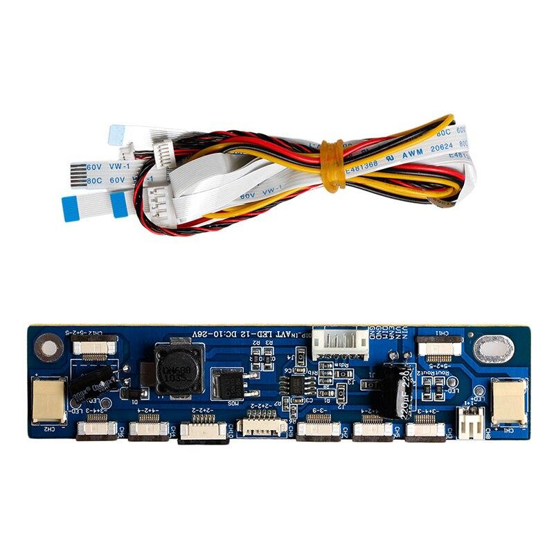 где купить Backlight LED Inverter Tester Constant Current Board Driver Board 12 Connecters -Y103 по лучшей цене