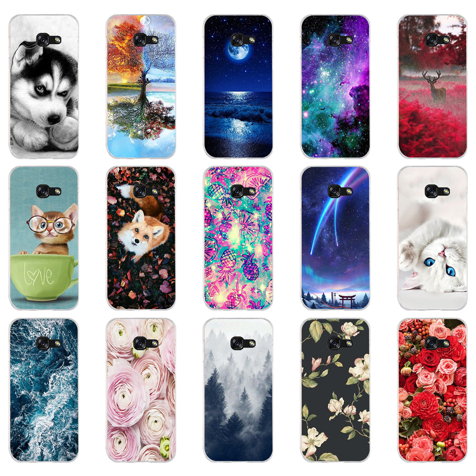 B For Samsung A5 2017 Case Soft Silicone Phone Case For Samsung Galaxy A5 2017 SM-A520F Cover Fundas For Samsung Galaxy A5 2017