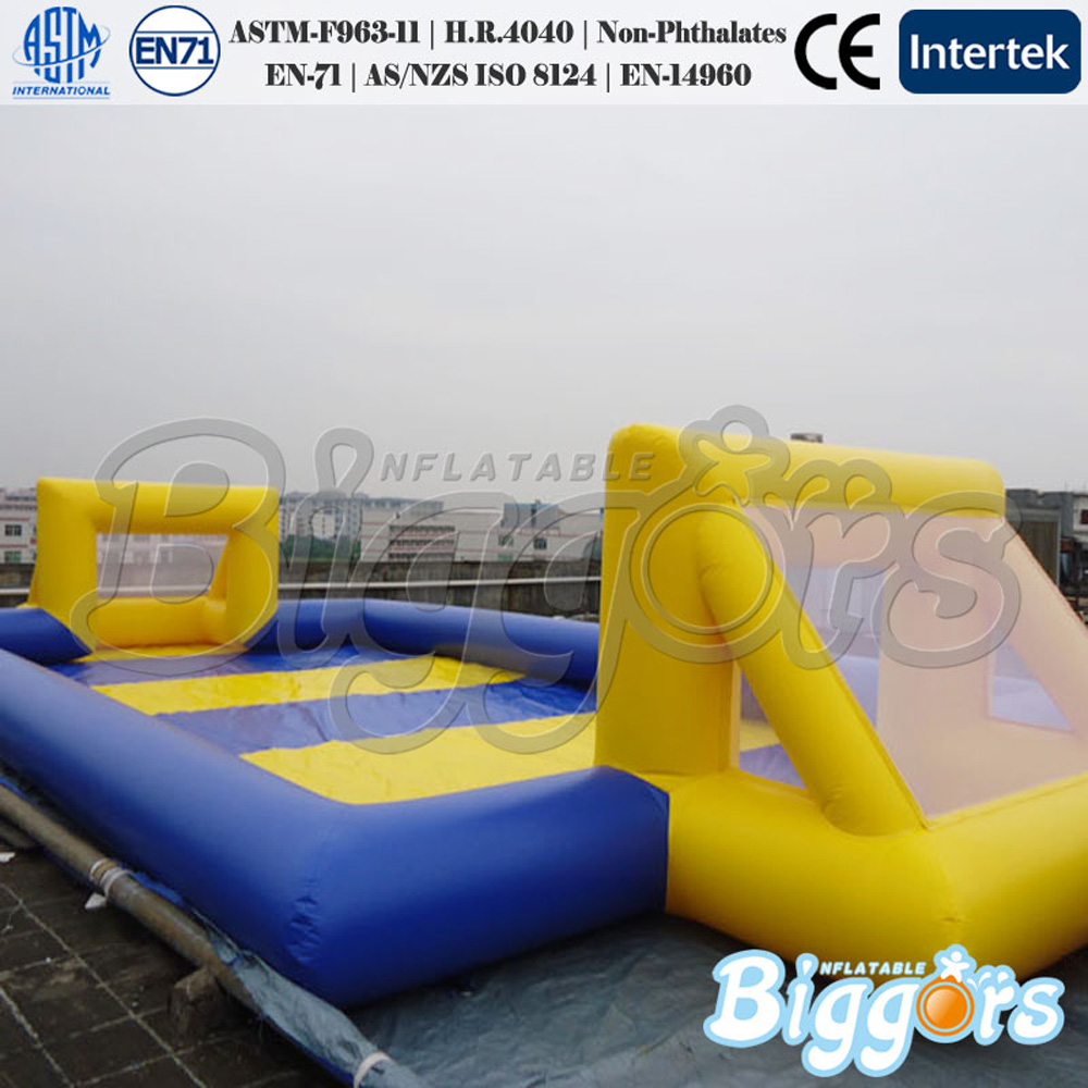 Free Shipping Sport Games Inflatable Soccer Field for YARD Factory for Sale  free shipping 3 3 1 2m water banana boat for sport games