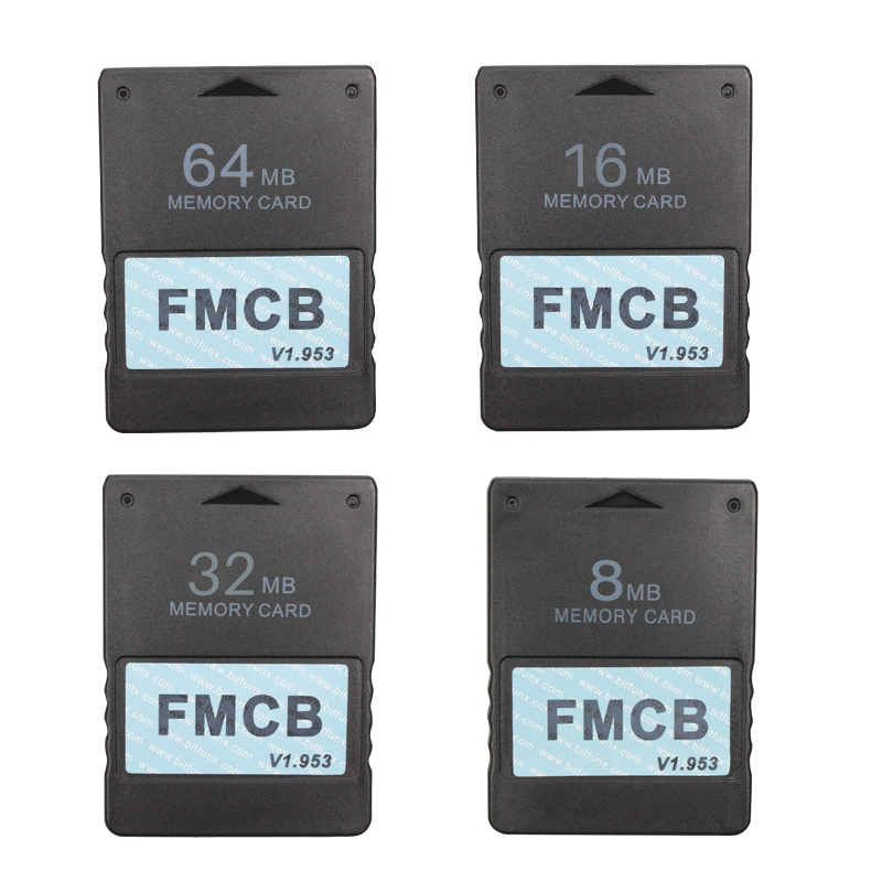 FMCB Memory Card For Sony PS2 Free McBoot FMCB 1.953 for Sony Playstation2 8MB/16MB/32MB/64MB Game Saver CardsFMCB Memory Card For Sony PS2 Free McBoot FMCB 1.953 for Sony Playstation2 8MB/16MB/32MB/64MB Game Saver Cards