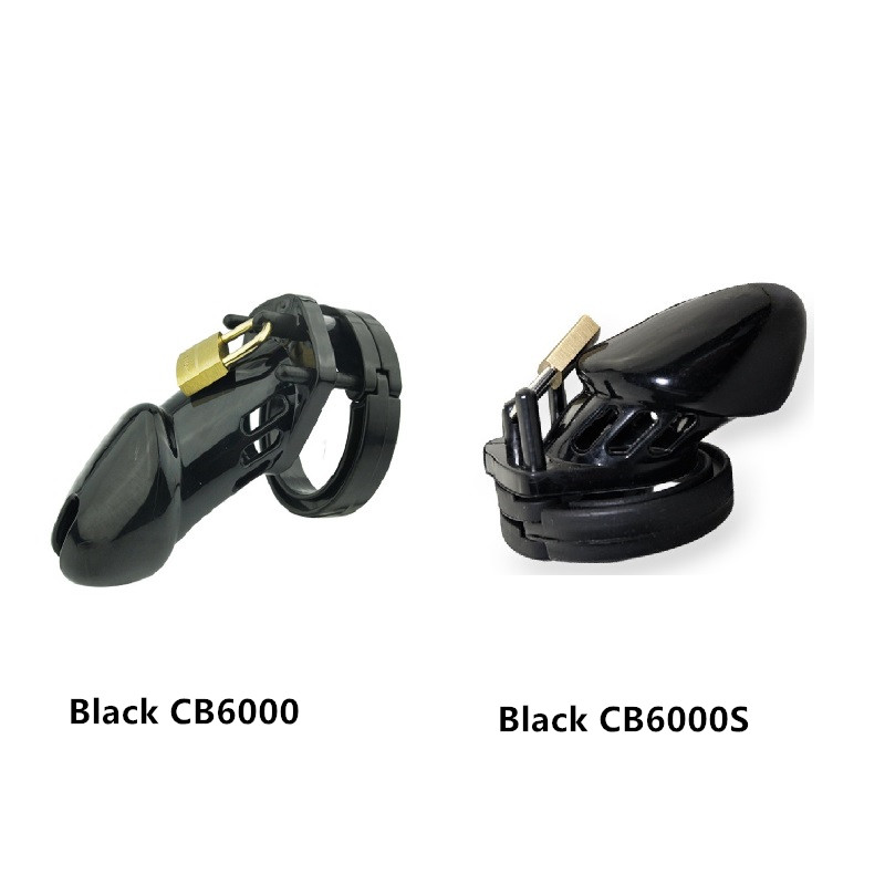 Free shipping Male plastic chastity cage cock ring lock bondage restraint device CB6000 CB6000s BDSM choose sex toy for men new plastic male cock lock penis ring electric shock chastity device cage cb6000 bondage restraint sm electro sex toy for men