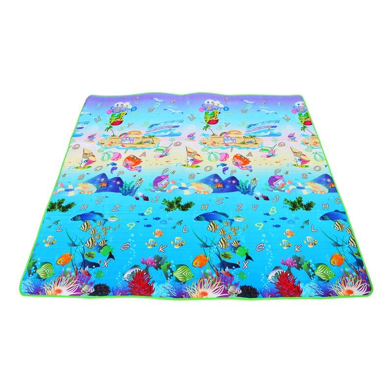 HTB1n.BRG1SSBuNjy0Flq6zBpVXag 0.5cm Thickness Children's Rug Baby Playing Mats Soft EVA Foam Double Side Patterns Child Carpets For Kids Crawling Gym Mats