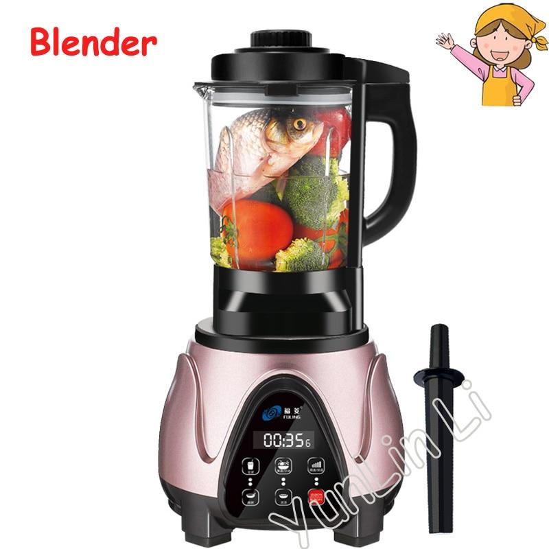 Domestic High Speed Blender Household Automatic Blender High Power Food Blender Intelligent Heating Food Processor wavelets processor