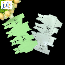 Julyarts 1PC Butterfly Style Metal Box Cutting Die Stencils for Scrapbooking Paper Cardstock Handmade Krafts