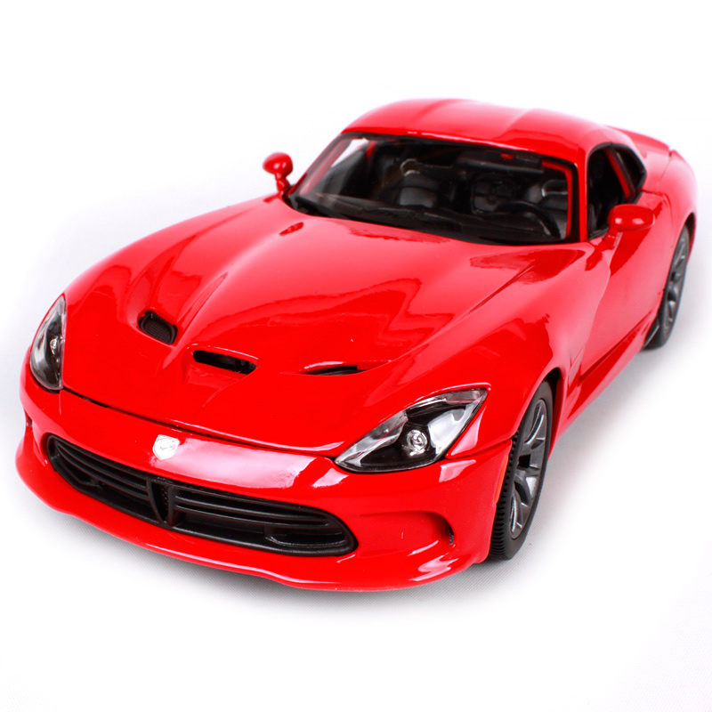 Maisto 1:18 2013 DODGE SRT Viper GTS Sports Car Diecast Model Car Toy New In Box Free Shipping 31128 бампер для нтс one купить