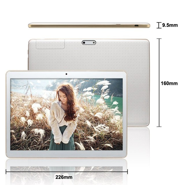 9.6 » Original New tablet 10 Android 5.1 Dual Camera OS Tablet PC 4GB 32GB MTK 8752 Octa core