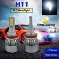 TAITIAN NEW H8 H9 H11 72W 7600LM LED Headlight Kit Beam Bulbs 6000K High Power