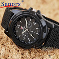 Creative 1PC Watches Men Gemius Army Racing Force Military Sport Men Officer Fabric Band Quartz Watch relogio masculino