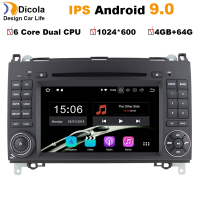 HD Android 9.0 For Mercedes Benz Sprinter B200 W209 W169 W245 B170 Vito W639 two DIN Car DVD player Radio GPS multimedia stereo