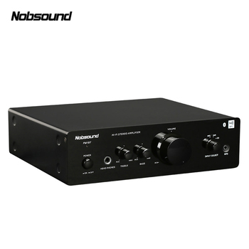 Nobsound PM1 Bluetooth 20W small home audio Amplifier pure HIFI 2.0 household mini desktop digital amplifier