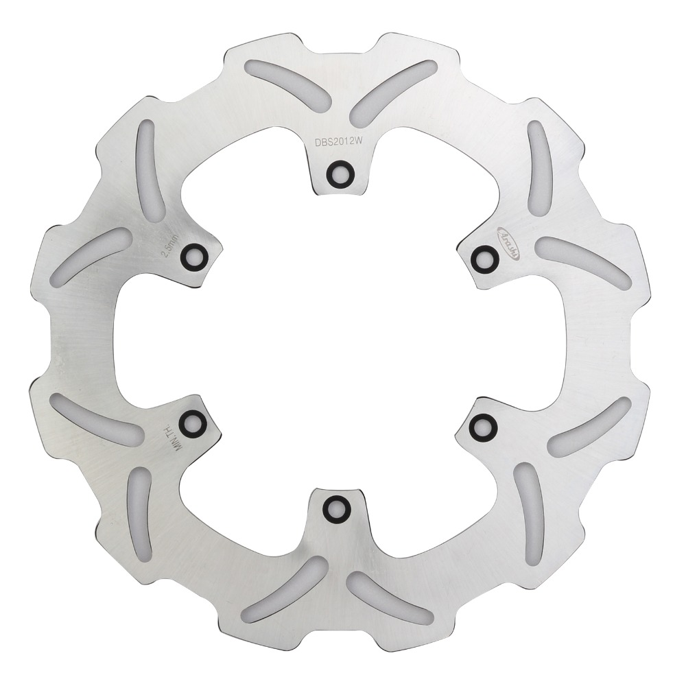 Motorcycle Front Brake Disc Brake Rotor for Yamaha YZ WR 125 250 F 250 450 Suzuki RM 125 250 RMX S 250 DRZ E S 400 D25 motorcycle stainless steel 220mm rear brake disc rotor for kawasaki kdx125 kdx200 kdx 220 250 klx250 klx300 suzuki lx250 250 sb