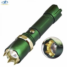 HFSECURITY LED Bright Powerful Flashlight 18650 Tactical Flashlight Women Self Defense Supplies Self-defense Weapon Equipment