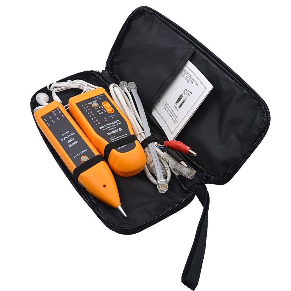 Kleinpaket WH806B Telefon Draht verfolger netzwerk Kabel Tester ...
