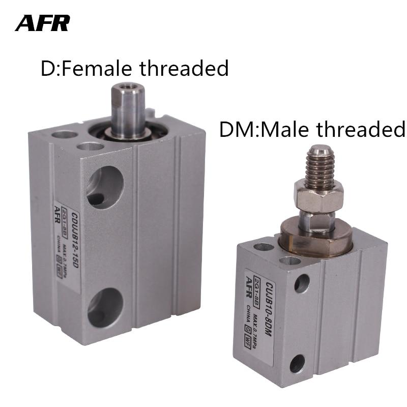 bore 6mm Mini Free Mount Cylinder CDUJB6 4DM CDUJB6 6DM CDUJB6 8DM CDUJB6 10DM CDUJB6 15DM CDUJB6 20DM CDUJB6 25DM CDUJB6 30DM in Pneumatic Parts from Home Improvement