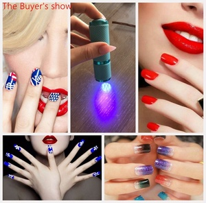 Image 5 - Mini lampe UV Led UV lampe à LED sèche ongles pour ongles en Gel 9 lampe de poche LED portabilité