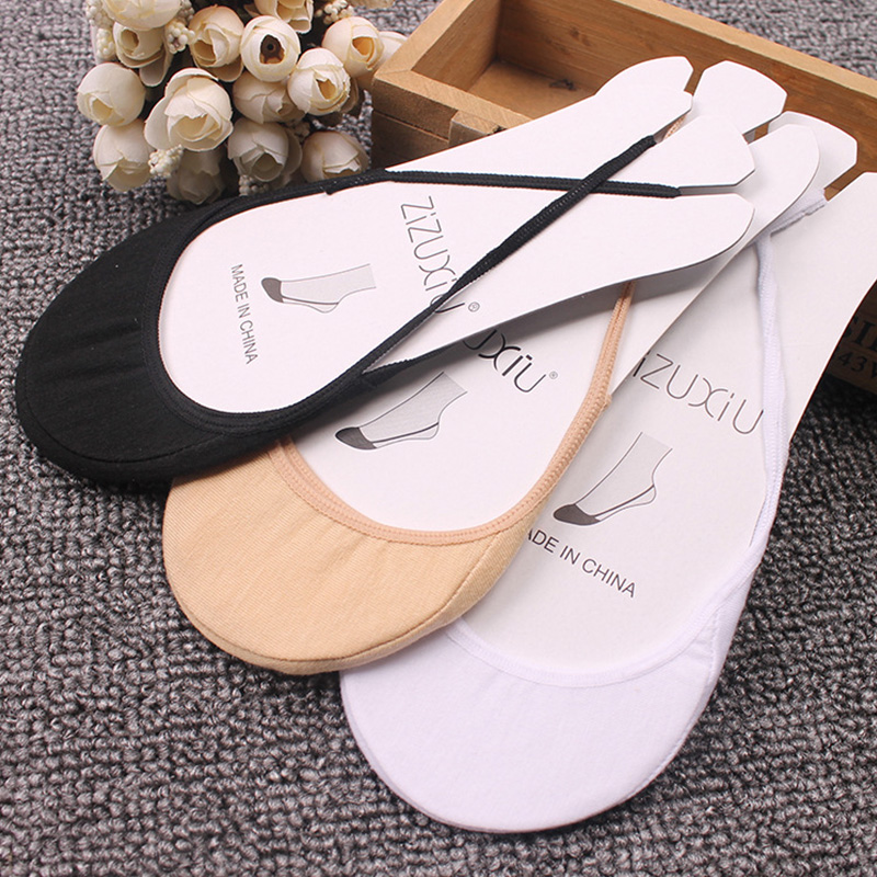 New Fashion 1Pair Cotton Comfortable Soild Half Sole Cover Invisible Sock Slippers For Women Wear High-heeled Shoes