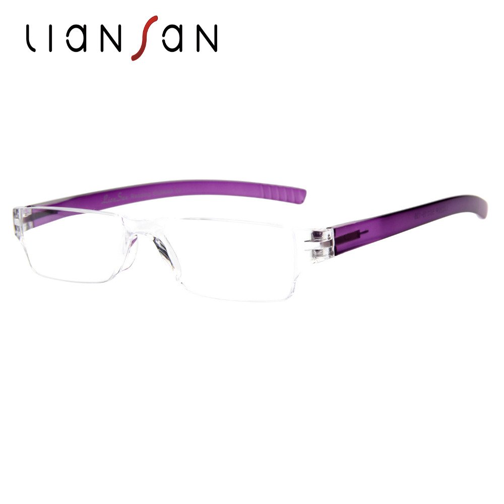 liansan occhiali  LianSan Vintage Retrò Senza Montatura In Plastica Occhiali Da ...