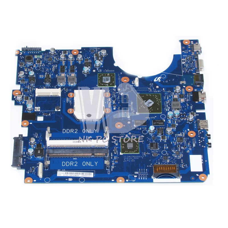NOKOTION NOKOTION Notebook PC Motherboard For Samsung R525 Main Board Socket s1 DDR2 Discrete Graphics Free CPU BA92-06013A ba92 05907b ba92 05907a notebook pc motherboard for samsung r505 main board sockets1 ddr2 ati discrete graphics free cpu