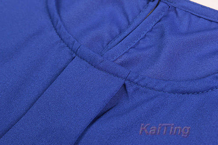 HTB1n.DRGFXXXXX.XVXXq6xXFXXX8 - Short Butterfly Sleeve Women Blouses Clothing Casual Chiffon Shirt