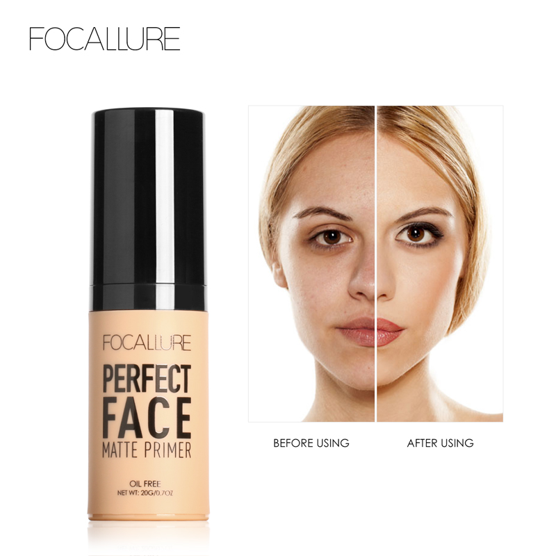 Focallure face primer Foundation make up base makeup Concealer Whitening Invisible cover women base makeup in Lipstick from Beauty Health
