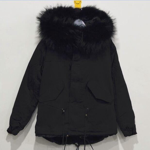 Hot sale 16 colors women real fox fur parka coat for ladies large collar genuine fox