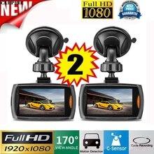 CARPRIE 2x Coche 1080 P Full HD DVR Cámara del Vehículo Dash Cam Grabador de vídeo g-sensor de Visión Nocturna cámara Del Coche Gps Del Coche Dvr Del Coche Detecto