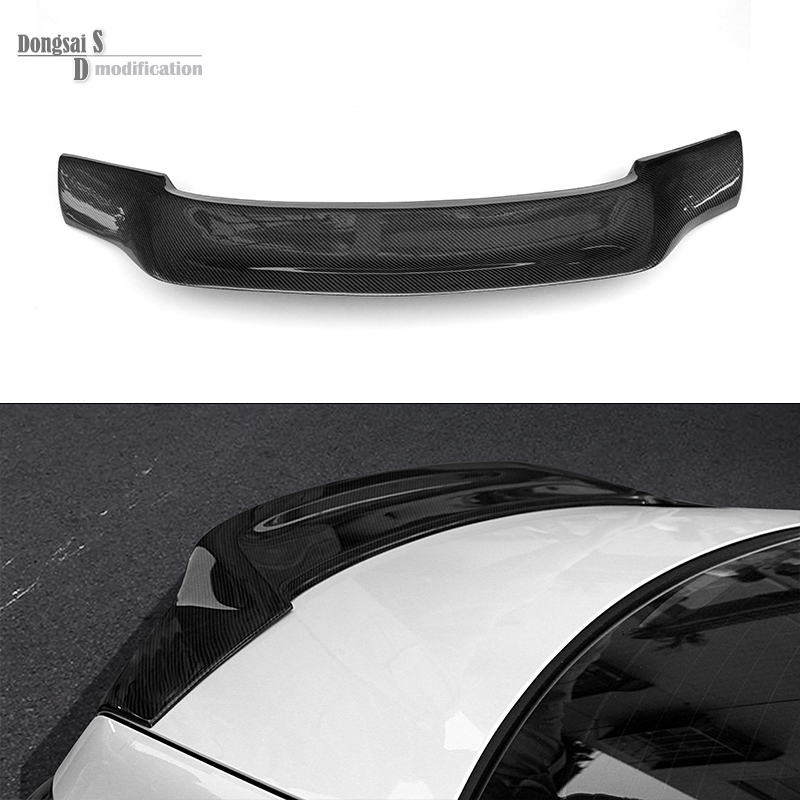 Replacement Mercedes W207 Spoiler Carbon Fiber Renntech Style Spoiler For Benz E Class W207 2010 - 2016 2 Doors Cabriolet E350 2015 2016 amg style w205 carbon fiber rear trunk spoiler wings for mercedes c class c180 c200 c250 c300 c350 c400 c450 c220