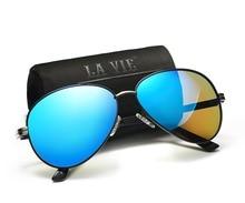 Fashion Brand Designer Hot Rays Sunglasses Men Women Retro Pilot Polarized Driving Fishing Sun Glasses